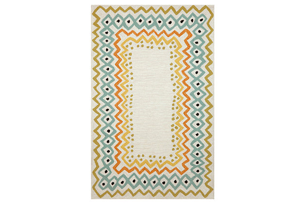 "Home Accents 3'6"" x 5'6"" Indoor/Outdoor Rug, , large"