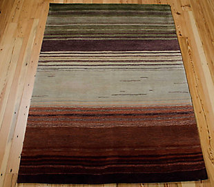 "Accessory Contour Forest 7'3"" x 9'3"" Area Rug, Forest, large"