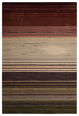 "Accessory Contour Forest 5' x 7'6"" Area Rug, Forest, large"