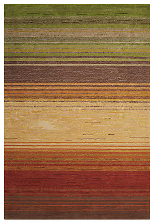 "Accessory Contour Harvest 3'6"" x 5'6"" Area Rug, Sunrise, large"
