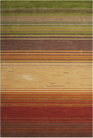 "Accessory Contour Harvest 3'6"" x 5'6"" Area Rug, Sunrise, rollover"