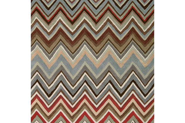 "Accessory Contour Multicolor 5' x 7'6"" Area Rug, Mocha, large"