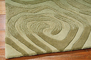 "Accessory Contour Avocado 5'x 7'6"" Area Rug, Avocado, large"