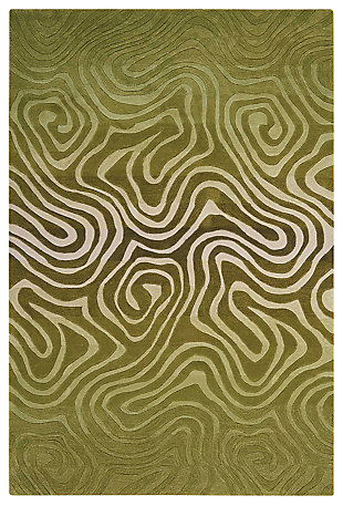 "Accessory Contour Avocado 5' x 7'6"" Area Rug, Avocado, large"