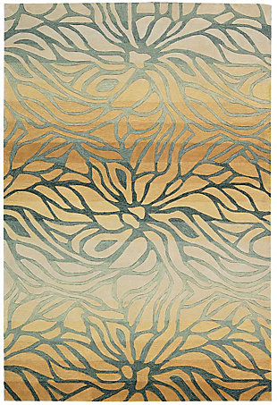"Accessory Contour Breeze 5' x 7'6"" Area Rug, Breeze, rollover"