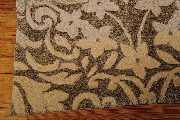 "Accessory Contour Latte 5' x 7'6"" Area Rug, Latte, large"