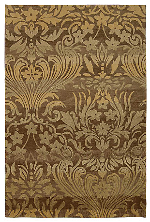 "Accessory Contour Latte 5'x 7'6"" Area Rug, Latte, large"