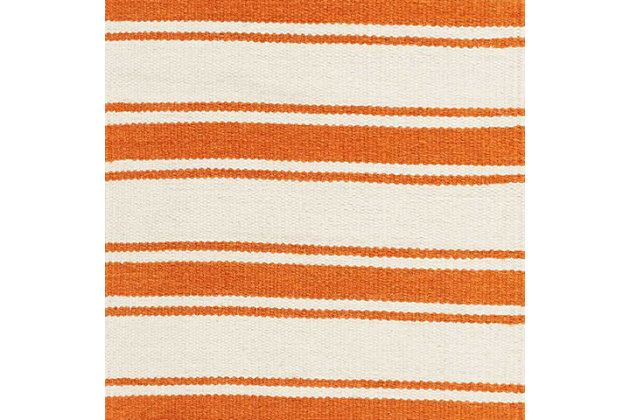 "Accessory Rio Vista Iv/Orange 5' x 7'6"" Area Rug, Sun, large"