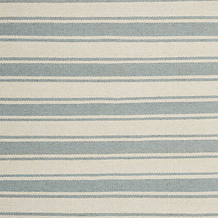 "Accessory Rio Vista Ivspa 4'x 6'6"" Area Rug, Pale Blue/White, large"