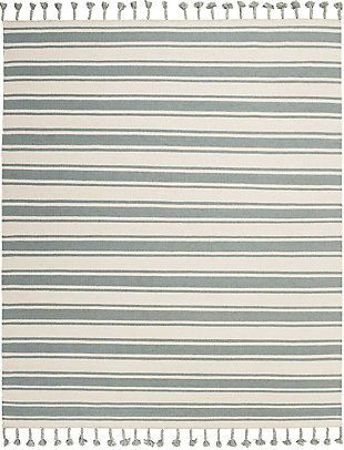 "Accessory Rio Vista Ivspa 8'x 10'6"" Area Rug, Pale Blue/White, rollover"