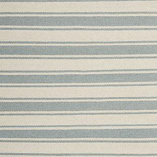 """Accessory Rio Vista Ivspa 8'x 10'6"""" Area Rug, Pale Blue/White, large"""