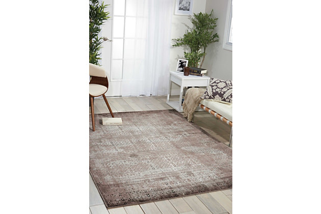 "Accessory Karma Ash 5'3"" x 7'4"" Area Rug, Ash, large"