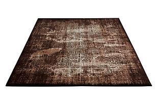 "Accessory Karma Latte 3'9"" x 5'9"" Area Rug, Latte, large"