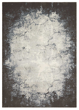 """Accessory Maxell Iv/Grey 3'10"""" x 5'10"""" Area Rug, Charcoal/Ivory, large"""