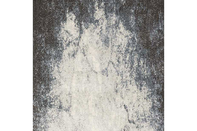"""Accessory Maxell Iv/Grey 5'3"""" x 7'3"""" Area Rug, Charcoal/Ivory, large"""