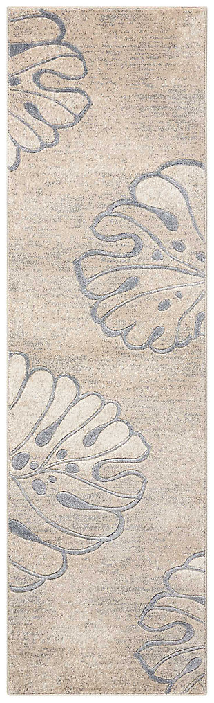 """Accessory Maxell Beige 2'2"""" x 7'6"""" Runner, Beige, large"""