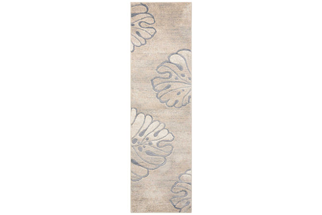 "Accessory Maxell Beige 2'2"" x 7'6"" Runner, Beige, large"