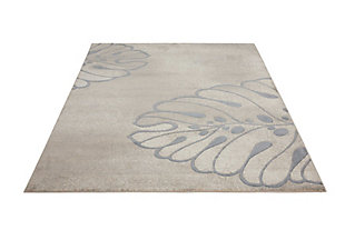 "Accessory Maxell Beige 5'3"" x 7'3"" Area Rug, Beige, large"