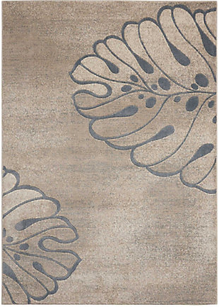 "Accessory Maxell Beige 5'3"" x 7'3"" Area Rug, Beige, rollover"
