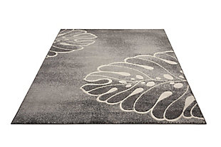 """Accessory Maxell Grey 7'10"""" x 10'6"""" Area Rug, Charcoal, large"""
