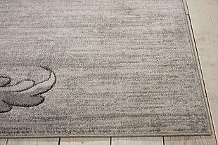 """Accessory Maxell Graphite 5'3"""" x 7'3"""" Area Rug, Graphite, large"""
