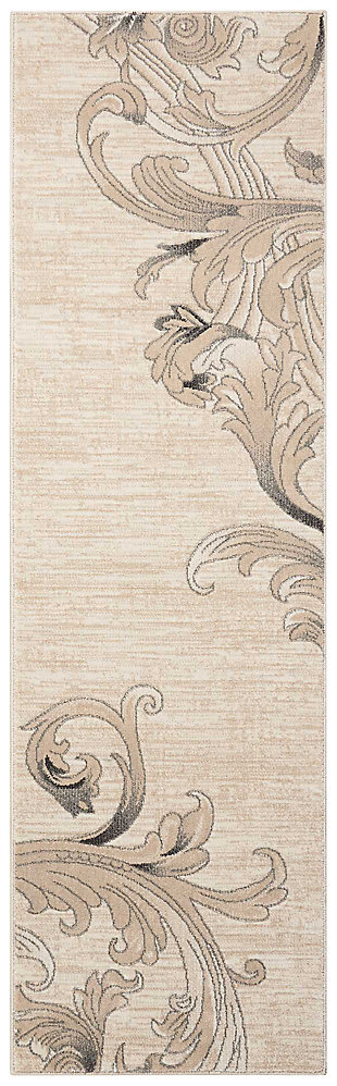 "Accessory Maxell Mocha 2'2"" x 7'6"" Runner, Mocha, large"