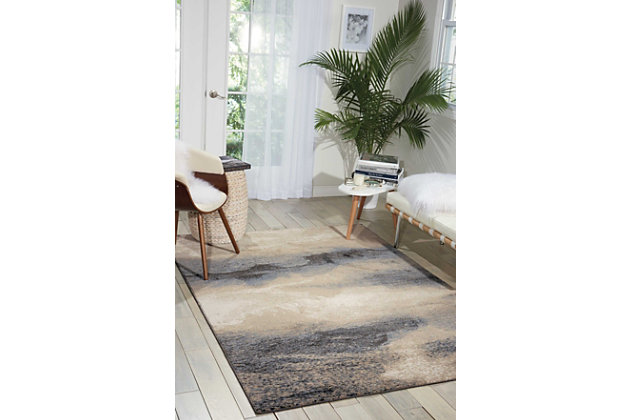 "Accessory Maxell Flint 5'3"" x 7'3"" Area Rug, Flint, large"