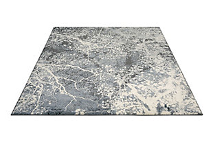 "Accessory Maxell Grey 5'3"" x 7'3"" Area Rug, Granite, large"