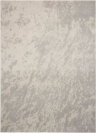 "Accessory Maxell Iv/Grey 5'3"" x 7'3"" Area Rug, Light Gray, rollover"