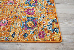 "Accessory Passion Sun 1'10"" x 2'10"" Accent Rug, Sun, large"