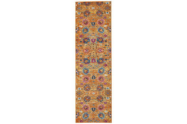 "Accessory Passion Sun 2'2"" x 7'6"" Runner, Sun, large"