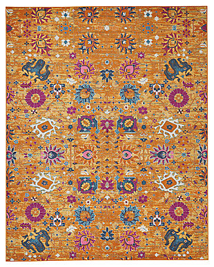 "Accessory Passion Sun 6'7"" x 9'6"" Area Rug, Sun, large"