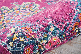 "Accessory Passion Fuchsia 1'10"" x 2'10"" Accent Rug, Fuchsia, large"
