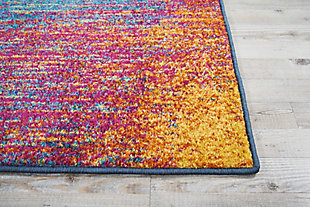"Accessory Passion Multicolor 2'2"" x 7'6"" Runner, Sunburst, large"