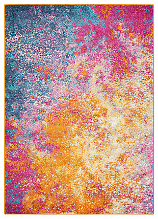"Accessory Passion Sunburst 3'9"" x 5'9"" Area Rug, Sunburst, large"