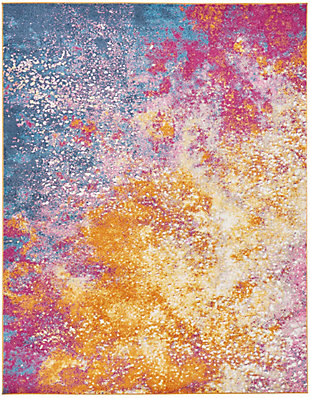 "Accessory Passion Sunburst 6'7"" x 9'6"" Area Rug, Sunburst, rollover"