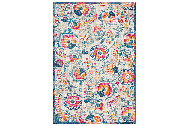 """Accessory Passion Ivory 6'7"""" x 9'6"""" Area Rug, Ivory, large"""