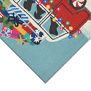"""Decorative Liora Manne Gifts on the Go Indoor/Outdoor Rug 20"""" x 30"""", Red, large"""