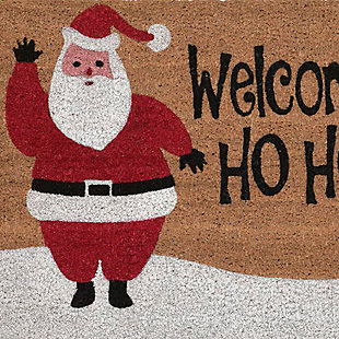 "Decorative Liora Manne Terrene Xmas Welcome Outdoor Mat 18"" x 30"", , large"