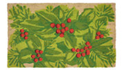 "Decorative Liora Manne Terrene Winter Leaves Outdoor Mat 18"" x 30"", , large"