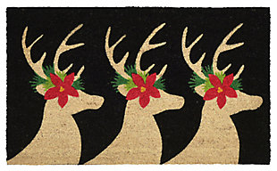 "Decorative Liora Manne Terrene Winter Friends Outdoor Mat 18"" x 30"", , large"