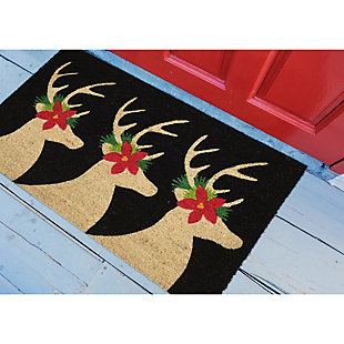 "Decorative Liora Manne Terrene Winter Friends Outdoor Mat 18"" x 30"", , rollover"