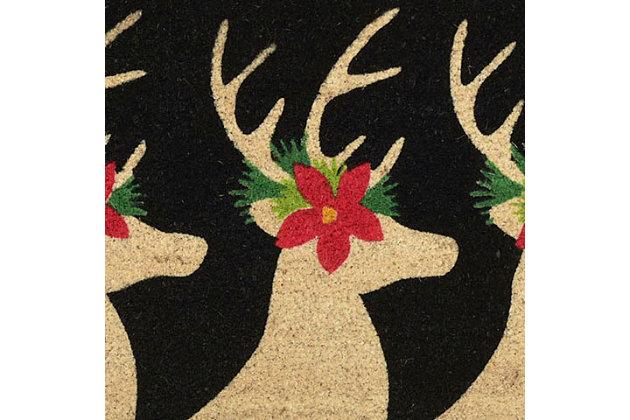 "Decorative Liora Manne Terrene Winter Friends Outdoor Mat 18"" x 30"", , large"