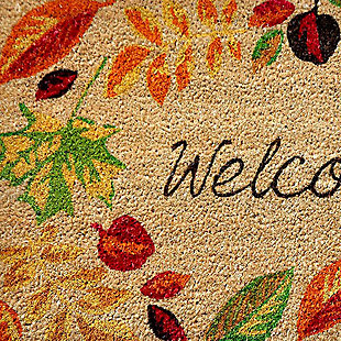 "Decorative Liora Manne Terrene Autumn Welcome Outdoor Mat 18"" x 30"", , large"