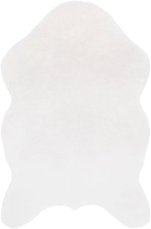 Kids Area Rug 5' x 7'6, White, large