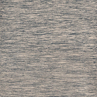 """Home Accents 5' x 7'6"""" Indoor/Outdoor Rug, Blue, large"""