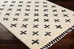 "Kids Area Rug 5'3"" x 7'3"", Charcoal/Beige, large"