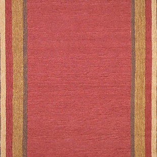 """Home Accents 7'6"""" x 9'6"""" Rug, Red, large"""