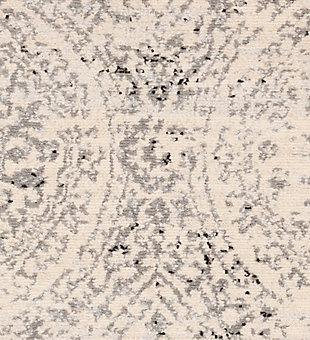 "Machine Woven 6'7"" x 9' Area Rug, Charcoal/Wheat/Ash, large"