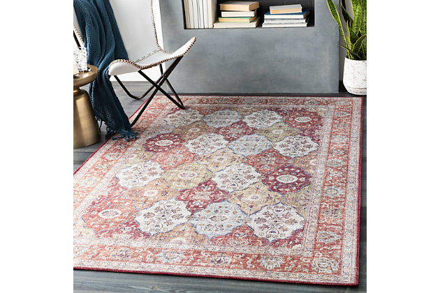 Woven Welch Area Rug, , large